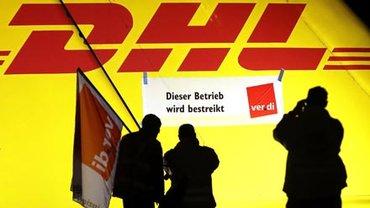Warnstreik beim DHL-Drehkreuz Leipzig/Halle